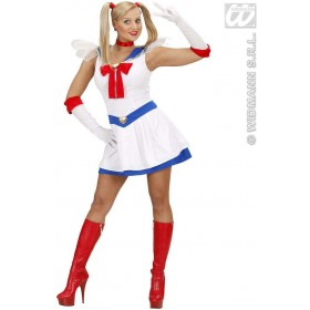 Manga Sailor Fancy Dress Costume Mens (Sailor)