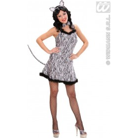 Zebra Fancy Dress Costume Ladies (Animals)