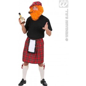 Scottish Kilts Fancy Dress Costume Mens (Cultures)