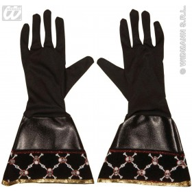 Pirate Gloves Leatherlook - Fancy Dress (Pirates)