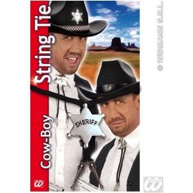 Cowboy String Tie 2Styles - Fancy Dress (Cowboys/Native Americans)
