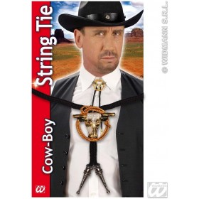Cowboy String Tie Deluxe - Fancy Dress (Cowboys/Native Americans)