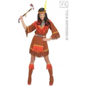 Native American Woman Fancy Dress Costume Ladies (Cowboys/Native Americans)