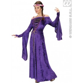 Velvet Fair Maiden 2Cols. With Dress, Headpiece Costume