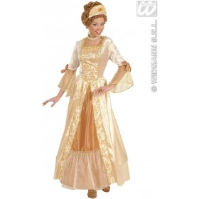 Golden Princess Fancy Dress Costume Ladies (Royalty)