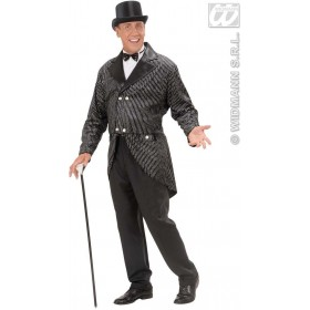 Glitter Tailcoat Mens Fancy Dress Costume