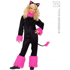 Cat Girl Fancy Dress Costume Girls