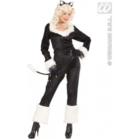 Catwoman Fancy Dress Costume Ladies