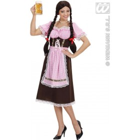 Heavy Fabric Bavarian Woman Fancy Dress Costume Ladies (Cultures)