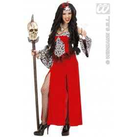 Voodoo Priestess Fancy Dress Costume Ladies (Vicars/Nuns)