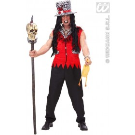 Voodoo Priest Fancy Dress Costume Mens (Vicars/Nuns)