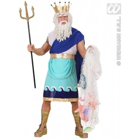 Poseidon Fancy Dress Costume Mens (Cartoon)