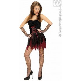 Victorian Vampire Fancy Dress Costume Ladies (Halloween)