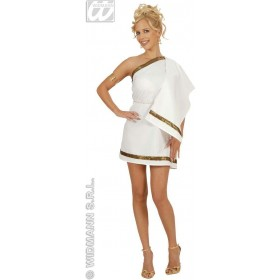 Greek Goddess Dreamgirlz Dress Fancy Dress Costume (Greek)