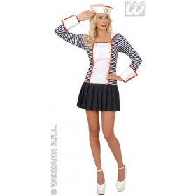 Sailor Dreamgirlz Adult Fancy Dress Costume Ladies (Sailor)