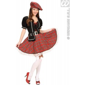 Bonnie Scot With Dress, Belt, Purse, Hat Fancy Dress (Cultures)