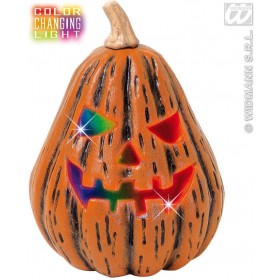 Colour Changing Light Pear Shape Pumpkins - Fancy Dress (Halloween)