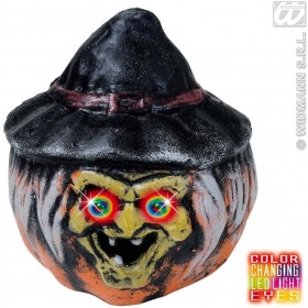 Colour Changing Light Witch Pumpkins - Fancy Dress (Halloween)