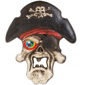 Pirate Skulls W/Colour Changing Eyes - Fancy Dress (Pirates)