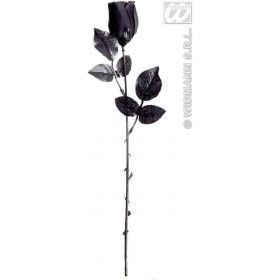Black Roses 44Cm - Fancy Dress (Halloween)