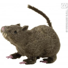 Hairy Rats 21Cm - Fancy Dress (Halloween)