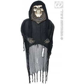 Hanging Grim Reapers With Gem Eyes 190Cm - Fancy Dress (Halloween)