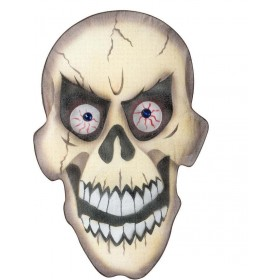 Skull Wall Decorations 36X55Cm - Fancy Dress (Halloween)