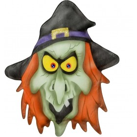 Witch Wall Decorations 33X57Cm - Fancy Dress (Halloween)