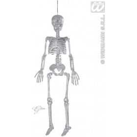 Silver Glitter Skeletons 92Cm - Fancy Dress (Halloween)