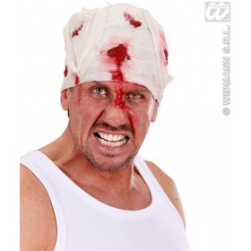 Bloody Head Bandages - Fancy Dress (Halloween)