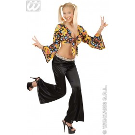 Bell Bottoms Ladies Black - Fancy Dress