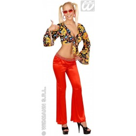 Bell Bottoms Ladies Red - Fancy Dress
