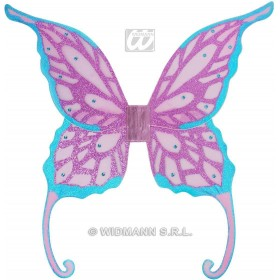 Maxi Glitter Wings W/Gems 85X88Cm - Fancy Dress