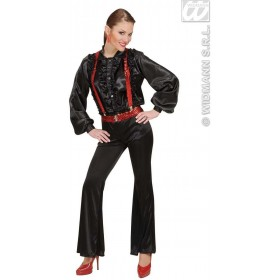 Braces - Red Sequin - Fancy Dress