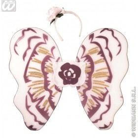 Flower Dress Up Set Child Wings/Hairband - Fancy Dress