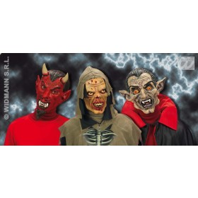 Horror Mask Child Devil/Vampire/Zombie - Fancy Dress (Halloween)