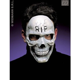 Half Face Skull Mask - Fancy Dress