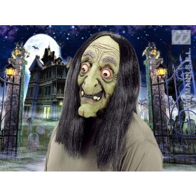 Witch Masks With Wig - Fancy Dress (Halloween)