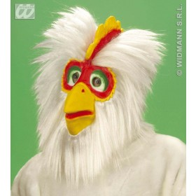 Chicken Mask Plush - Fancy Dress (Animals)
