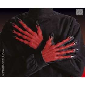 Devil Gloves 3D - Fancy Dress (Halloween)