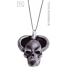 Latex Medallion Satanic - Fancy Dress (Halloween)