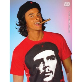 Guevara Hat W/Hair - Fancy Dress