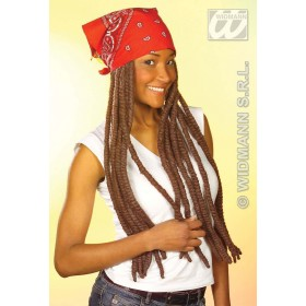 Bandana W/Dreadlocks - Fancy Dress