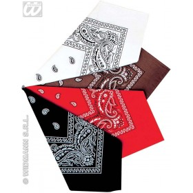 Bandana 55Cm In 4 Colours - Fancy Dress