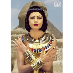 Cleopatra Set Collar And Wristbands - Fancy Dress