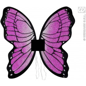 Glitter Butterfly Wings 50X50Cm - Fancy Dress