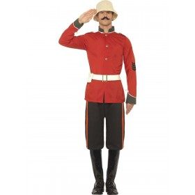 Boer War Soldier Costume Fancy Dress