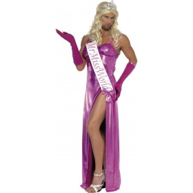 Mr Miss World Fancy Dress Costume Mens Size 38-40 S