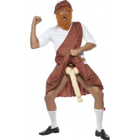 Well Hung Highlander Costume Mens Size 38-40 S