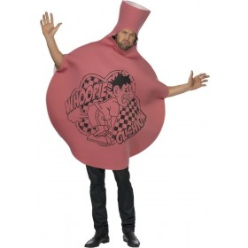 Whoopie Cushion Fancy Dress Costume